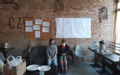 Maltézská pomoc pomáhá v době pandemie lidem bez domova dočasně ubytovaným v hotelu