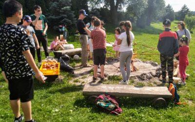 Rodiče s dětmi si užili předprázdninové dovádění na Kaprodromu v Olomouci