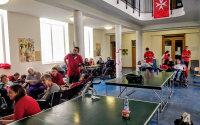 20. Setkání vozíčkářů na Velehradě je provázeno rodinnou atmosférou