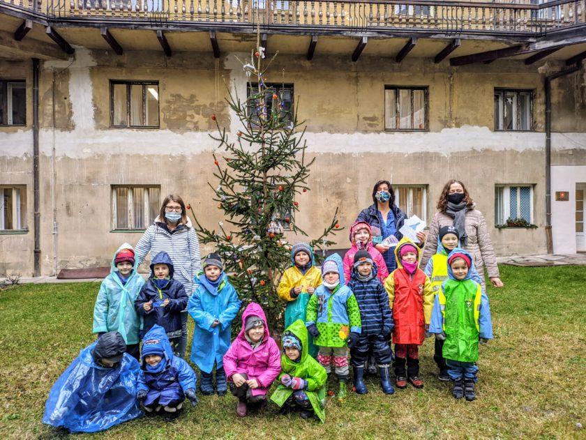 Děti MŠ Žižkovo náměstí Olomouc osobní asistence