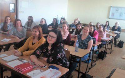 Prezentovali jsme studentům sociální činnost