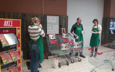 Pražské centrum se zapojilo do Sbírky potravin