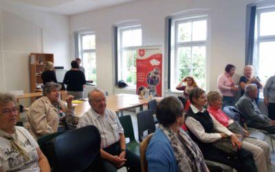 V Žatci uspořádali Den seniorů a Maltézská pomoc se též zúčastnila