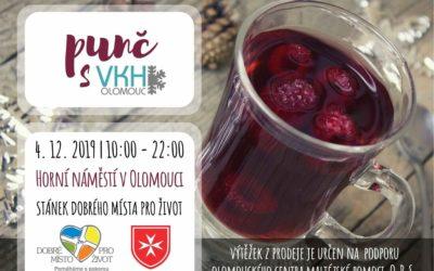 Maltézská pomoc na Horním náměstí v Olomouci – čaj a punč pro dobrou věc!