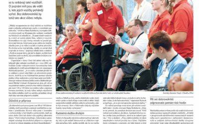 Katolický týdeník psal o dobrovolnických aktivitách Maltézské pomoci na Dnech lidí dobré vůle