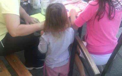 Pro rodiny z azylového domu Petrklíč jsme uspořádali dětský den